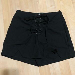 Missguided high waist shorts